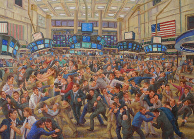 John Alexander Parks, 'The New York Stock Exchange', 2015
