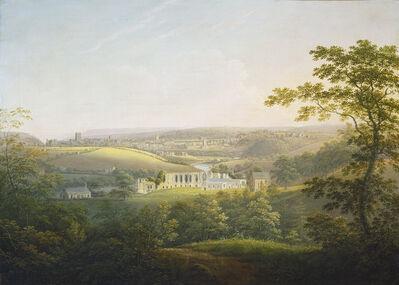 George Cuitt the Younger, 'Easby Abbey, near Richmond', ca. 1821/1854