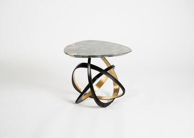 Hervé van der Straeten, 'Gueridon Volubile, No. 538 Contemporary Side Table', 2017