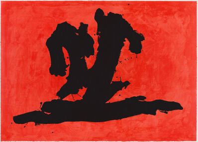 Robert Motherwell, 'Wave', 1989