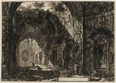 Giovanni Battista Piranesi, 'Interno del Tempio di Canopo nella Villa Adriana (from Vedute di Roma)', 1776