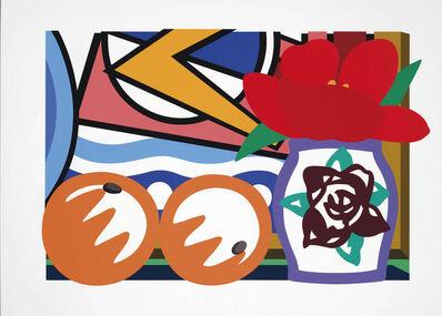 Tom Wesselmann, 'Still Life with Lichtenstein and Two Oranges', 1993