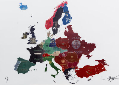 Yanko Tihov, 'Europe Contemporary - Cold War Lenticular', 2017