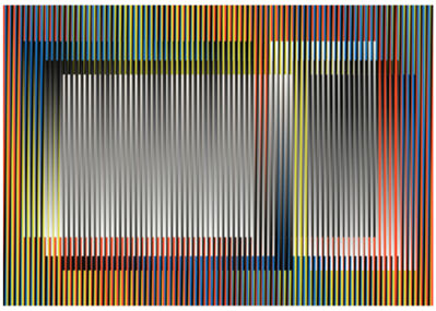 Carlos Cruz-Diez, 'Couleur Additive Angélica', 2014