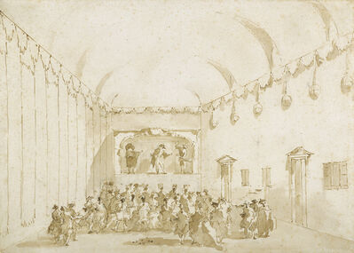 Francesco Guardi, 'A Theatrical Performance', 1782