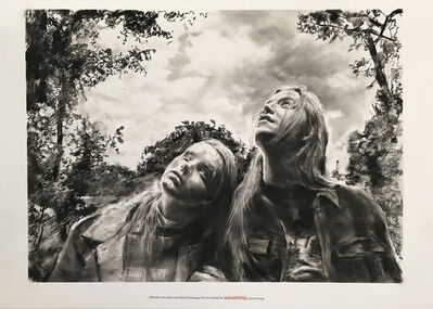 Muntean & Rosenblum, 'Untitled ( One day you catch...)', 2018