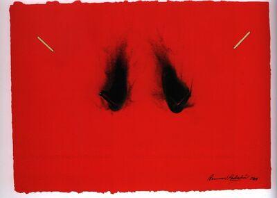 Bernard Aubertin, 'Papier Rouge Brûlé n°234', 2009