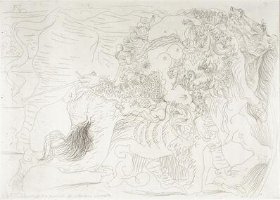 Pablo Picasso, 'Femme Torero. Dernier Baiser', 1934