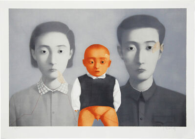 Zhang Xiaogang, 'Big Family Portrait ', 2007