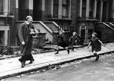 Bert Hardy, 'Life of an East End Parson, London', 1940