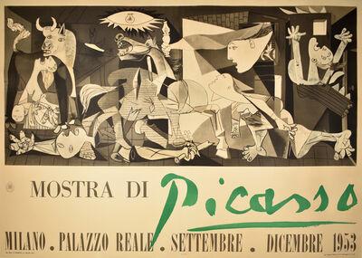 Pablo Picasso, 'MOSTRA DI PICASS0 - GUERNICA - SPANISH CIVIL WAR', 1953