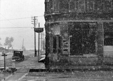 Marion Post Wolcott, 'Post Office Blizzard, Aspen, CO', 1940