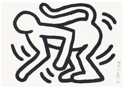 Keith Haring, 'Monkey Man', 1983