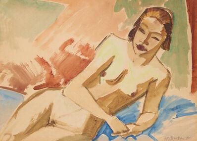 Max Pechstein, 'Weiblicher Akt (Naked woman)', 1921