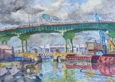 Derek Buckner, 'Expressway over the Canal'