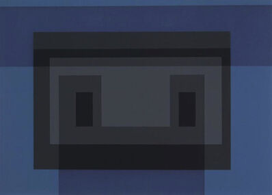 Josef Albers, 'Variant VII, From 10 Variants', 1966