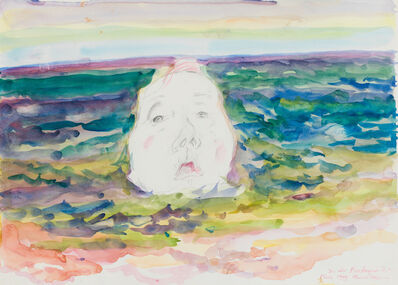 Maria Lassnig, 'In der Bretagne and am Meer', 1999