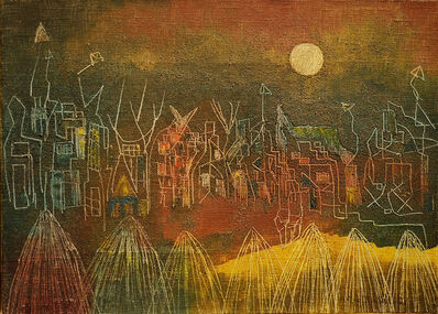 Alice Rahon, 'Village Abandoned to the Ghosts', 1948