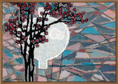 Kim Whanki, 'Jar & Prunus-Blossom', 2015