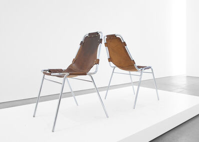 Charlotte Perriand, ''Les Arcs' Chairs', ca. 1970