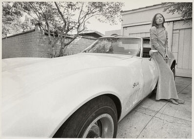 Julian Wasser, 'Joan Didion Leaning on Stingray 1968', 1968