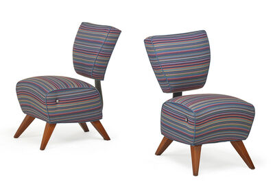 Jordan Mozer, 'Pair of Fred's dining chairs', 1990s