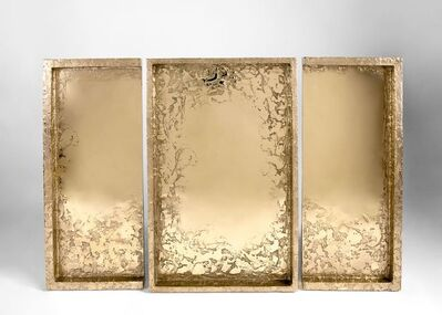 Garnier & Linker, 'One of a Triptych of Sculptural Mirrors', France-2019