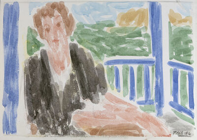 Stephen Pace, 'Jan on Porch', 1996
