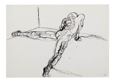 Günter Brus, 'Action Drawing (Naked Man) / Aktionszeichnung (nackter Mann)', 1966