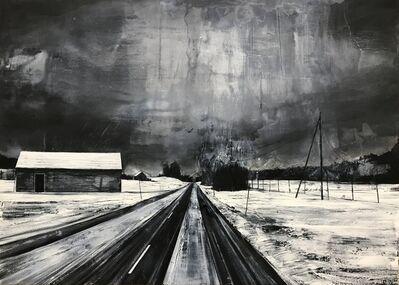 Mark Thompson, 'Revealed Wounds Dramatic Black & White Landscape', 2008