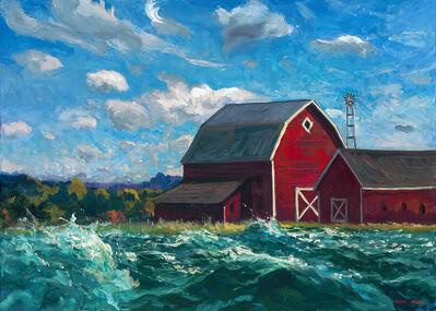 Mark Beck, 'Landscape with Barn', 2019