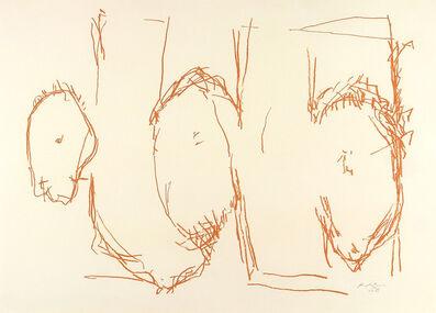 Robert Motherwell, 'ELEGY SKETCH', 1987