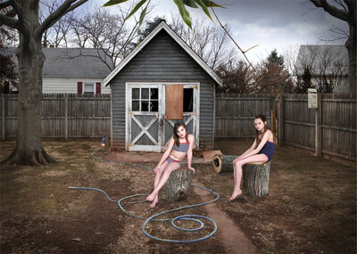 Liron Kroll, 'Backyard 1', 2013