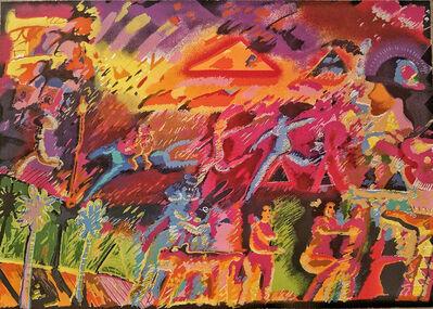 Carlos Almaraz, 'Whatever Happened to the Inca's', 1985