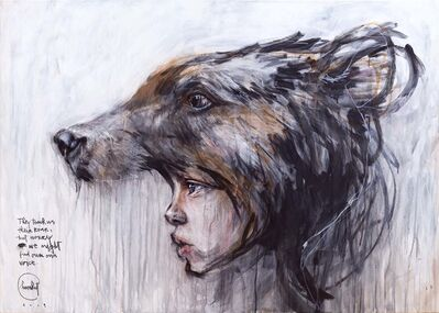 Herakut, 'They teach us their Roar, but worry we might find our own voice.', 2019