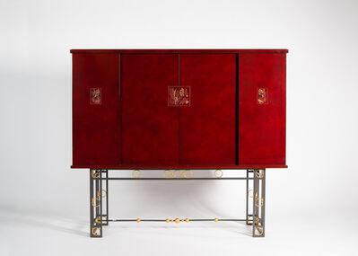 Maison Leleu, 'A Pair of Cabinets', 1957