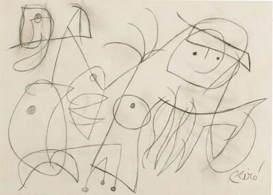 Joan Miró, 'Femme, oiseau', 1977