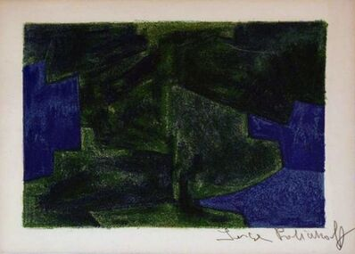 Serge Poliakoff, 'Composition in blue and green 41 ', 1963