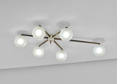 Angelo Lelii, ''Stella a 6' six-armed ceiling light', circa 1959