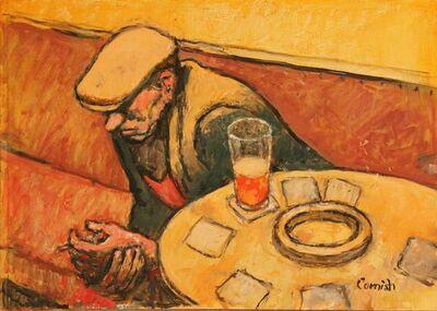 Norman Cornish, 'Man at bar table', ca. 1965