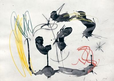 Joan Miró, 'Personnage et oiseau dans la nuit (W7813)', 1966