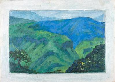 Roberto Montenegro, 'La Barranca De Oblatos', 1966