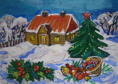Elizabeth Borisov, 'Christmas Times', 2019