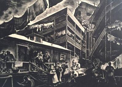 Millard Sheets, 'Family Flats (Los Angles, CA)', 1935