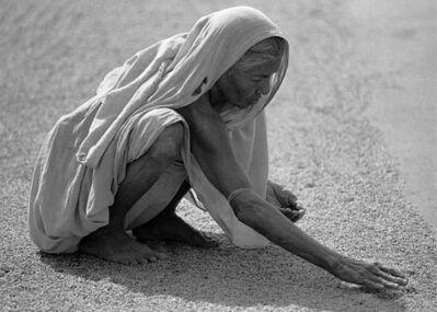 Ulla Lemberg, 'Säden torkar i solen Indien', 1994