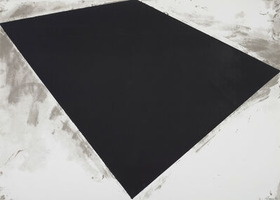 Richard Serra, 'Untitled (Philip Glass Poster)', 1972