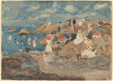 Maurice Brazil Prendergast, 'Revere Beach', ca. 1896