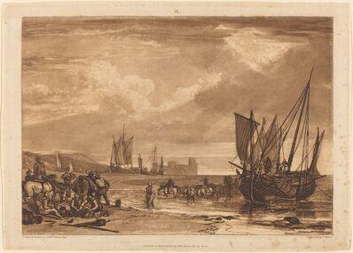 J. M. W. Turner, 'Scene on the French Coast', published 1807