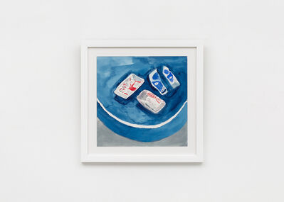 Charlie Scheips, 'Broken Hockney Ashtrays', 2019