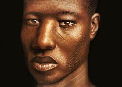 Babajide Olatunji, 'Tribal Marks Series IV #23', 2020